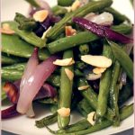 Kalyn's roasted green beans with almonds