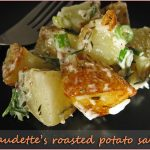 Claudette's roasted potato salad