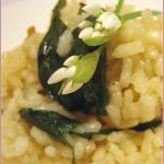 Spring is in the air with a wild garlic risotto
