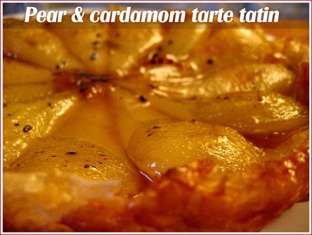 Pear-cardamom-tarte-tatin