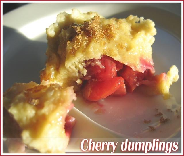 cherry-dumplings