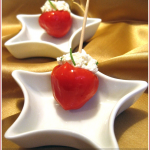 Feta and garlic stuffed Peppadews – WTSIM#5