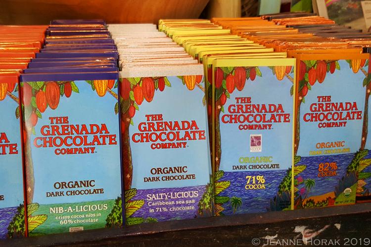Grenada-chocolate-company-chocolate-bars © J Horak 2019