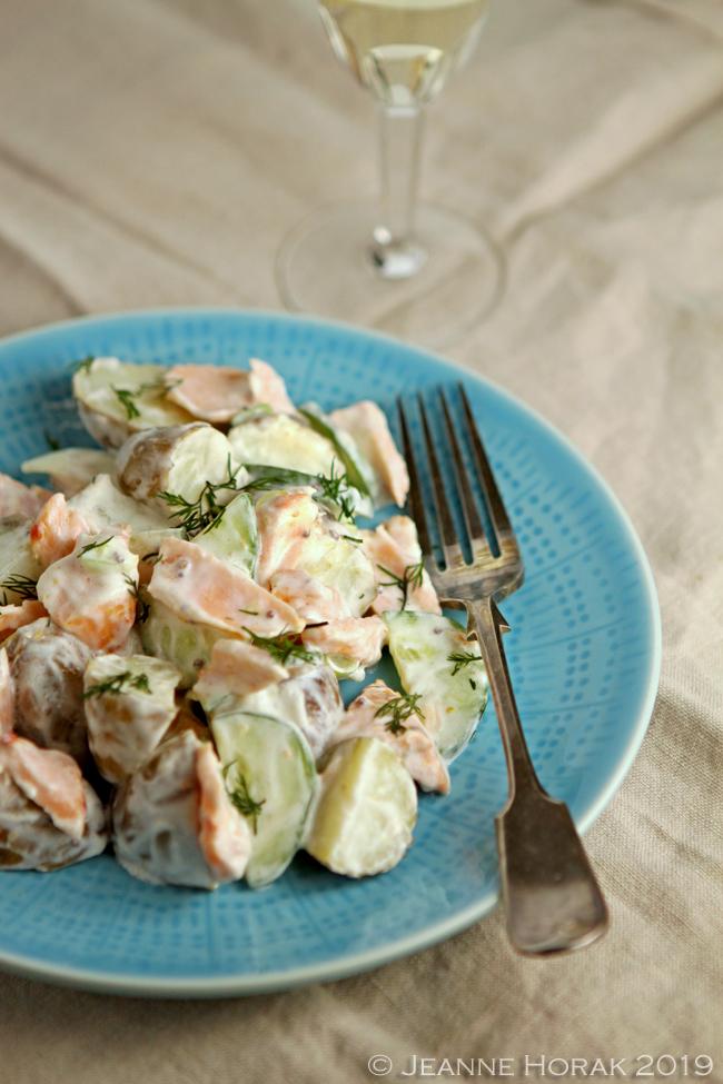 Jersey-royals-salmon-salad4 © Jeanne Horak 2019