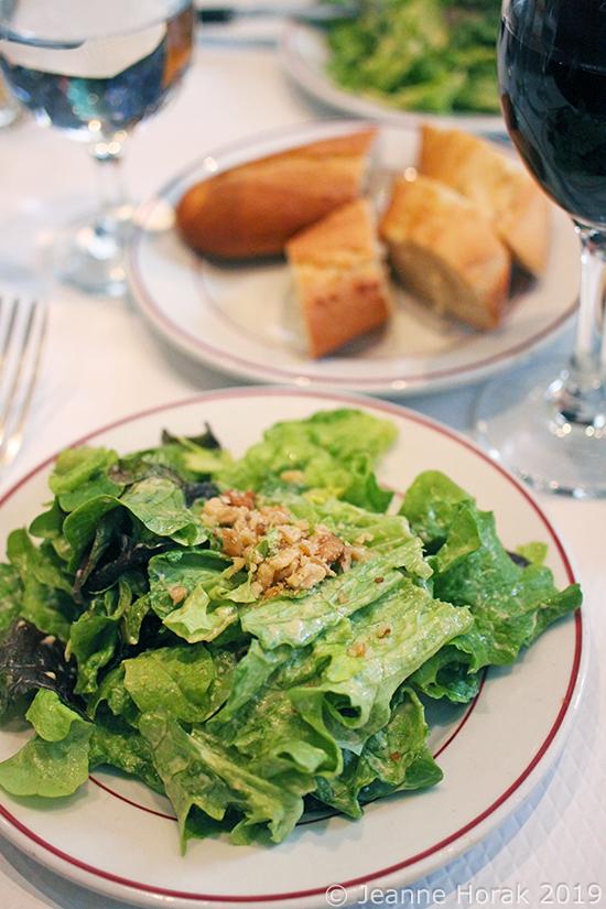 Relais-de-Venise-salad1 © Jeanne Horak 2019