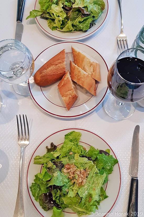 Relais-de-Venise-salad2 © Jeanne Horak 2019