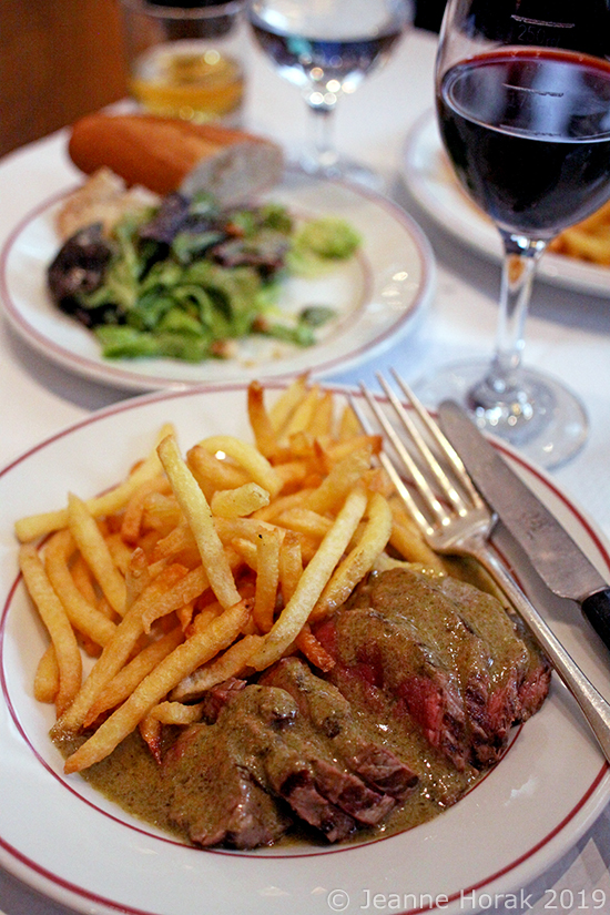 Relais-de-Venise-steak1 © Jeanne Horak 2019