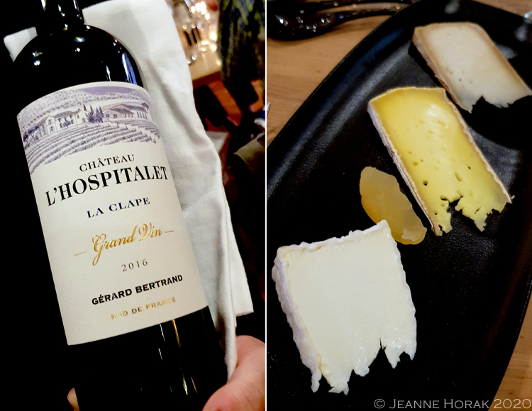 Gerard-Bertrand-cheese-wine © Jeanne Horak 2020