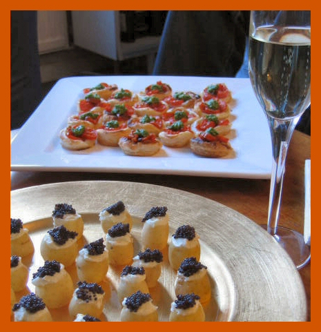 Jeanne-birthday-canapes1 © J Horak-Druiff 2006