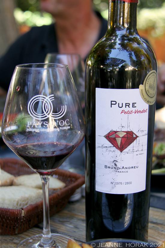 Bruno Andreu Petit Verdot wine