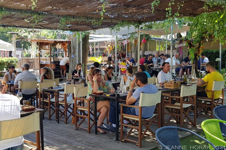 Bar Boeuf & Cow terrace, Beziers