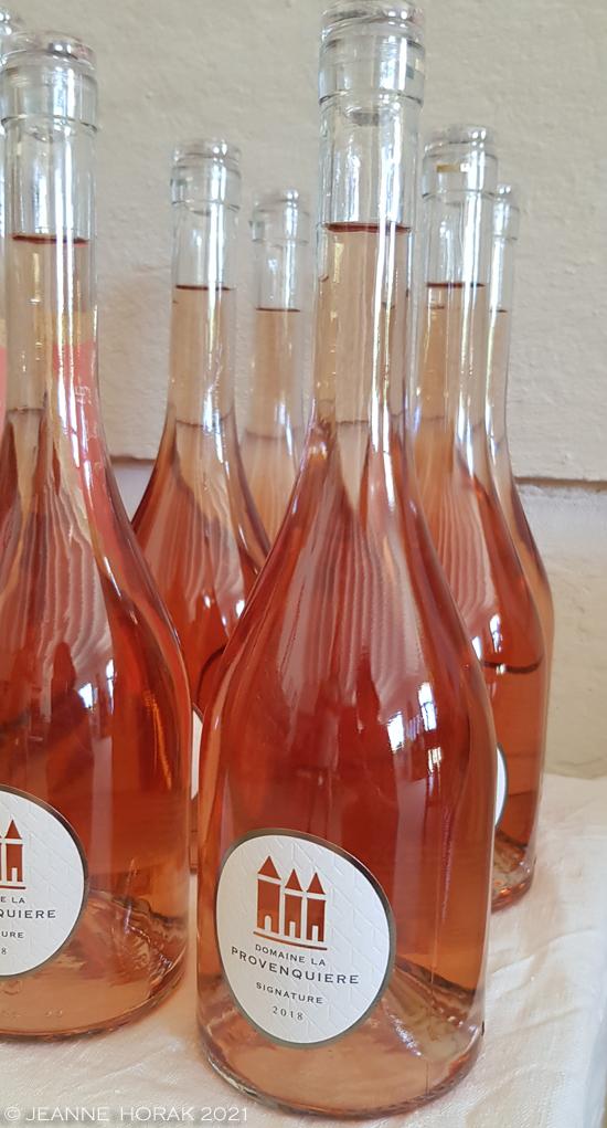 Domaine La Provenquiere rosé wine